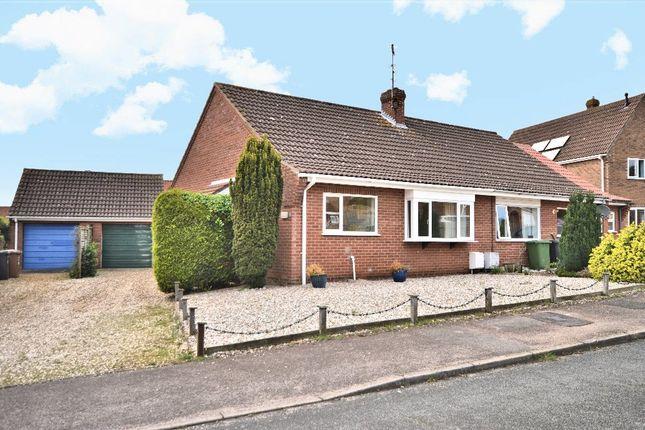 Thumbnail Semi-detached bungalow for sale in Kings Croft, Dersingham, King's Lynn
