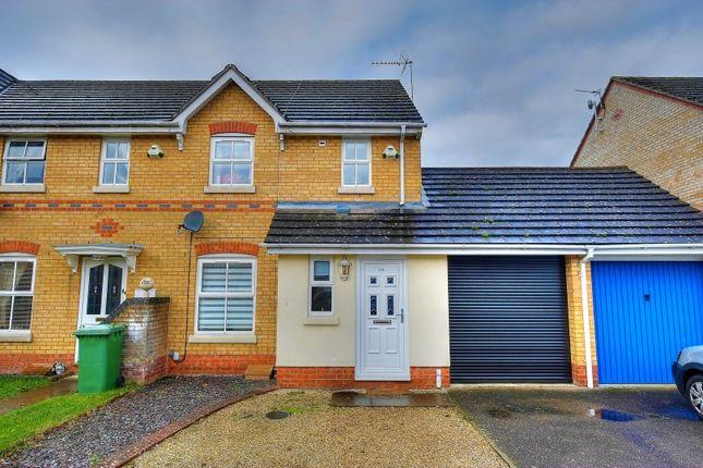 Thumbnail Semi-detached house for sale in Old Warren, Norwich