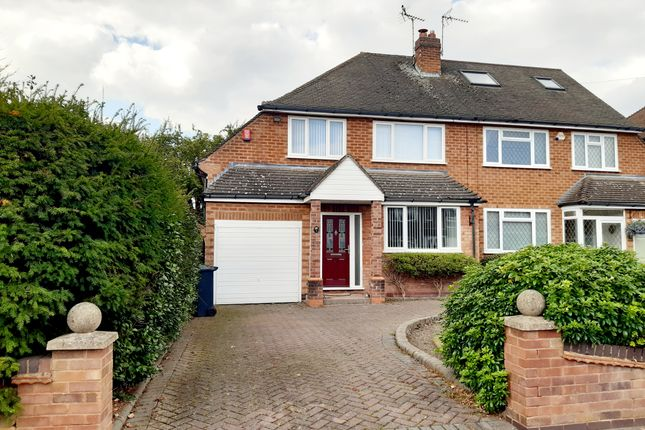3 bed semi-detached house to rent in Brentwood Close, Solihull, West Midlands B91