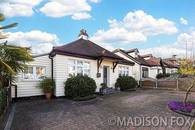Thumbnail Bungalow for sale in The Crescent, Loughton