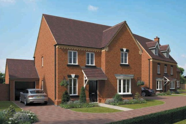 Thumbnail Detached house for sale in Doseley Park, St Lukes Road, Doseley, Telford