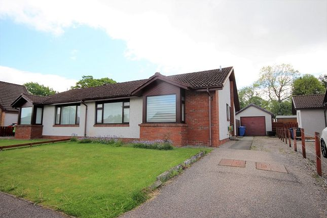 Thumbnail Semi-detached bungalow for sale in 6 Caulfield Gardens, Cradlehall, Inverness