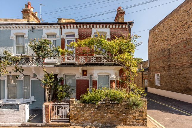 Thumbnail End terrace house for sale in Hartismere Road, Fulham, Parsons Green, London