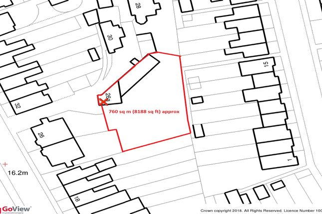 Thumbnail Land for sale in Hounslow Road, Whitton, Twickenham