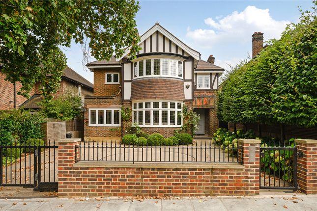 Thumbnail Detached house for sale in Denbigh Gardens, Richmond, UK