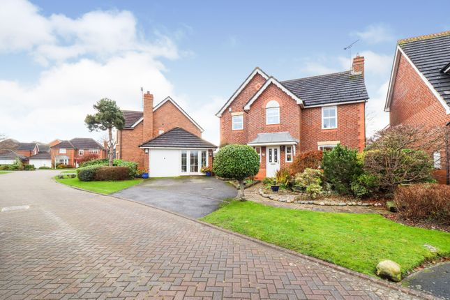 Thumbnail Detached house for sale in Tinkersfield, Stapeley, Nantwich