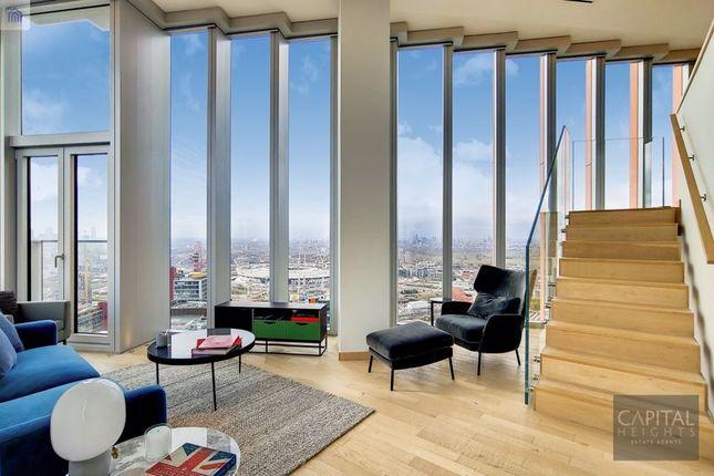 3 bed flat to rent in Manhattan Loft Gardens, 20 International Way, London E20