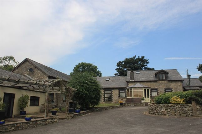 Thumbnail Barn conversion for sale in St. Mary Hill, Bridgend