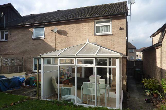 Thumbnail End terrace house for sale in Danvers Mead, Pewsham, Chippenham