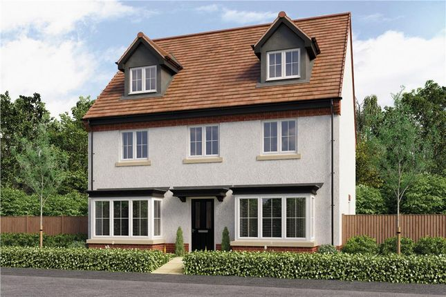 "Thumbnail Detached house for sale in ""Huxley"" at Burton Road, Streethay, Lichfield"