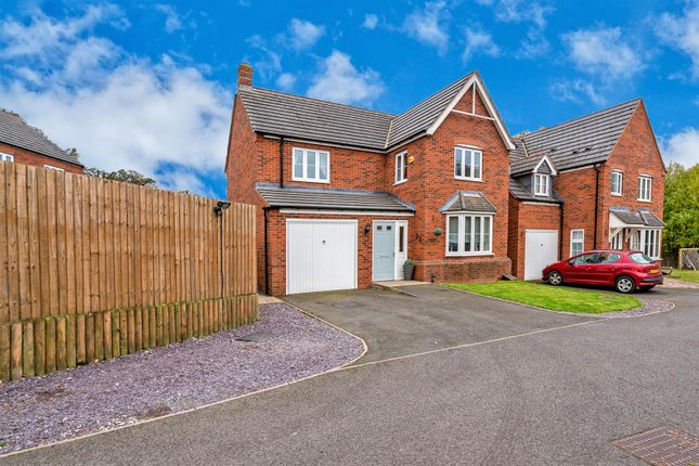 Thumbnail Detached house for sale in Westminster Road, Rushall, Walsall