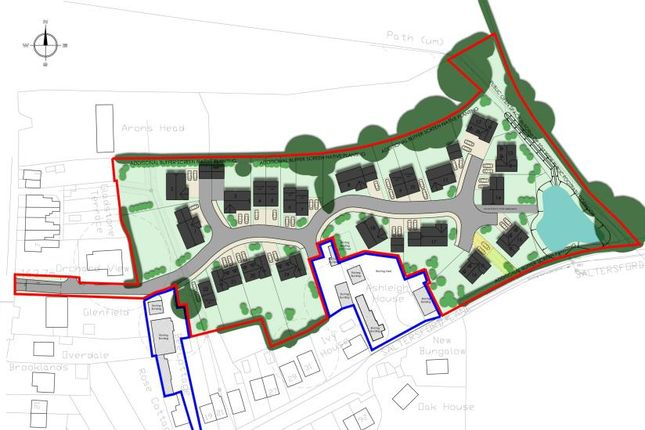 Thumbnail Land for sale in Saltersford Lane, Alton, Stoke-On-Trent