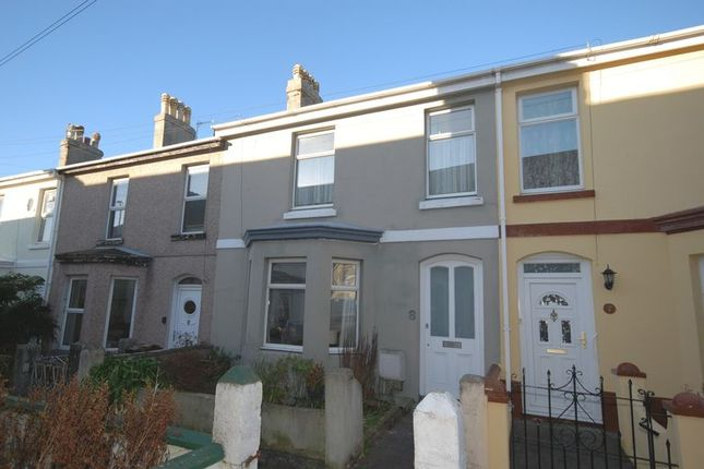 Thumbnail Terraced house for sale in Watson Gardens, Plymouth