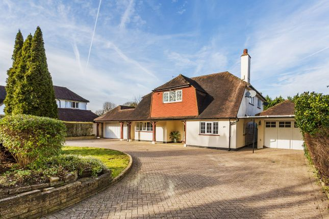 Thumbnail Detached house for sale in The Downsway, South Sutton, Surrey