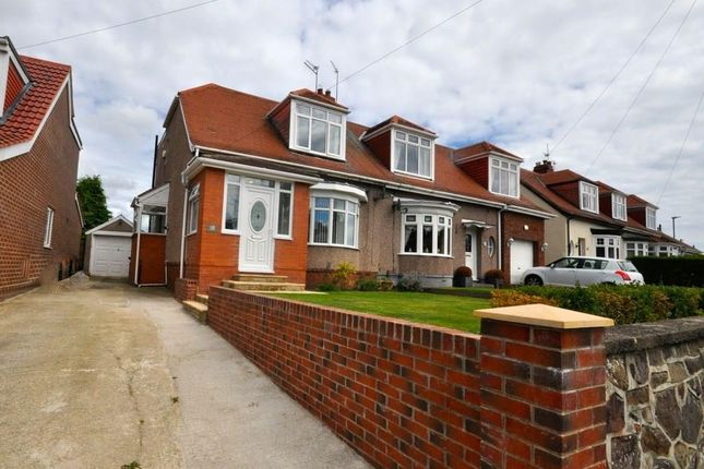 Thumbnail Semi-detached house for sale in Sandringham Crescent, East Herrington, Sunderland