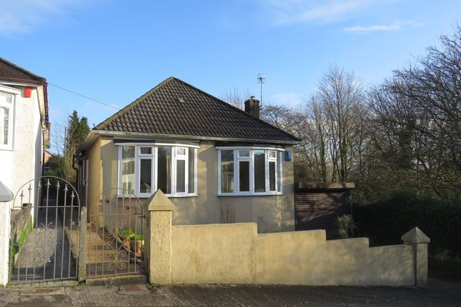 Thumbnail Detached bungalow for sale in Marett Road, Higher St Budeaux, Plymouth