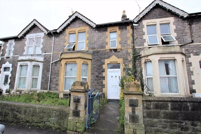 Thumbnail Terraced house for sale in Swiss Road, Weston-Super-Mare