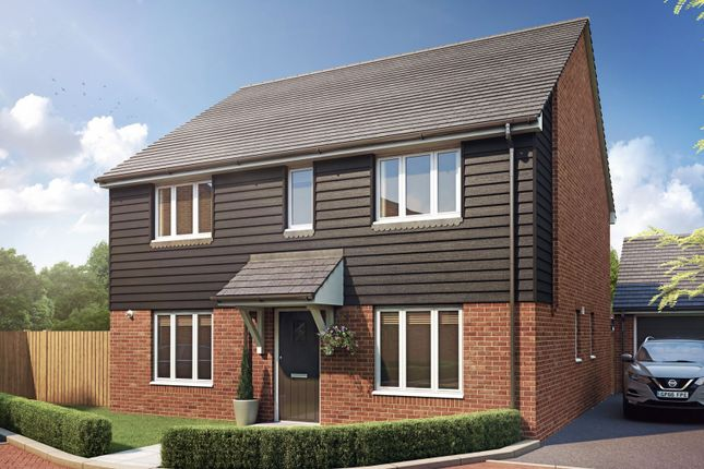 Thumbnail Detached house for sale in Beldam Bridge Road, West End, Woking