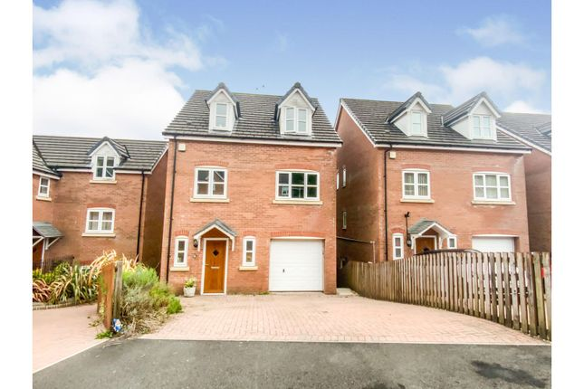 Detached house for sale in Garwed Gardens, Neath