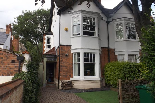 Thumbnail Semi-detached house to rent in Ebers Road, Mapperley Park, Nottingham