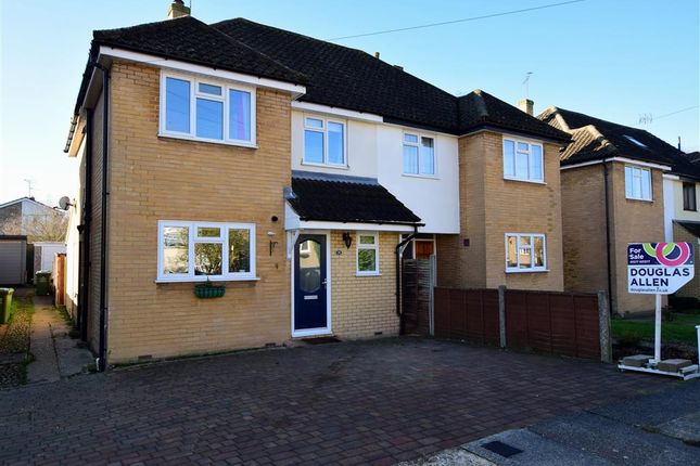 Thumbnail Semi-detached house for sale in Raven Crescent, Billericay, Essex