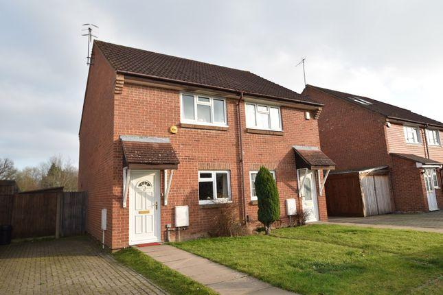 Thumbnail Semi-detached house for sale in School Field, Edenbridge