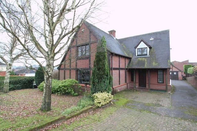 Thumbnail Detached house for sale in The Bridle Path, Newcastle-Under-Lyme