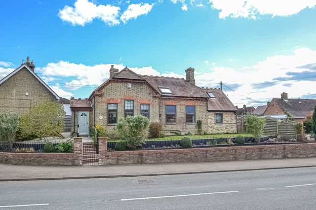 Thumbnail Detached house for sale in High Street, Great Paxton, St. Neots
