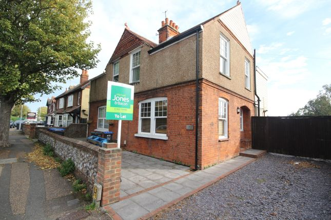 Thumbnail Semi-detached house to rent in Southdownview Road, Broadwater