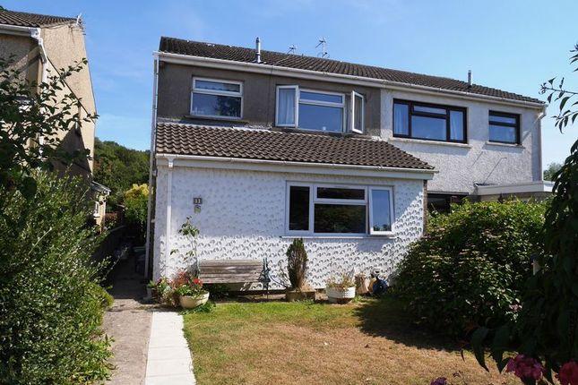Thumbnail Semi-detached house for sale in Glan Yr Afon, Maes Y Felin, Pontyclun