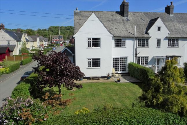 Thumbnail End terrace house for sale in Garden Suburb, Llanidloes, Powys
