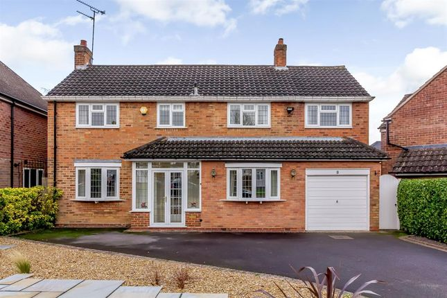 Thumbnail Detached house for sale in Holland Avenue, Knowle, Solihull