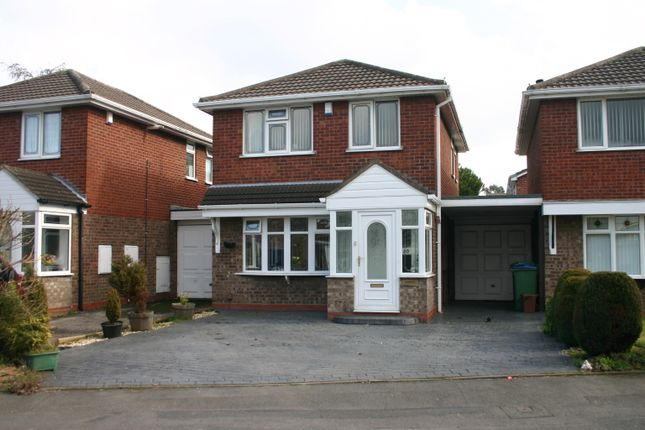 Thumbnail Link-detached house to rent in Macdonald Close, Tividale