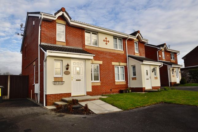 Thumbnail Semi-detached house for sale in Danby Road, Hyde