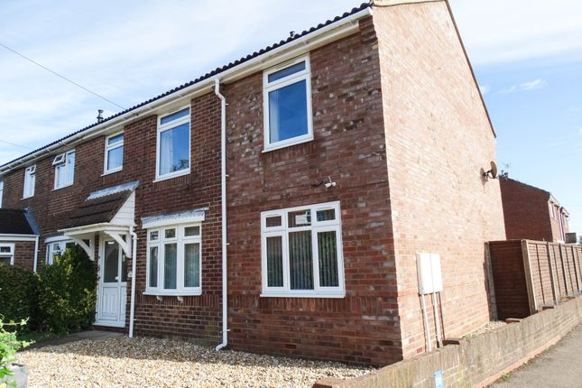 Thumbnail End terrace house for sale in Windsor Road, Chichester