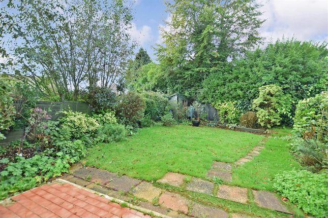 Rear Garden of Jeffreys Way, Uckfield, East Sussex TN22