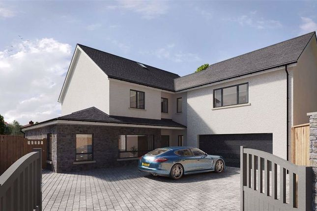 Thumbnail Detached house for sale in Gower Road, Upper Killay, Swansea