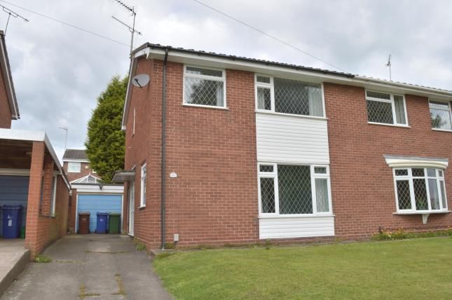 Thumbnail Semi-detached house for sale in Arden Close, Rugeley, Staffordshire