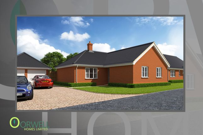 Thumbnail Detached bungalow for sale in Plot 10, 6 Cullingford Close, Laxfield
