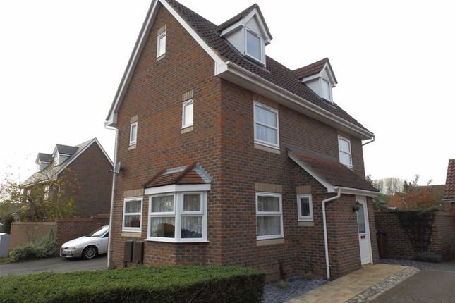 Thumbnail Detached house for sale in Tanners View, Ipswich, Suffolk