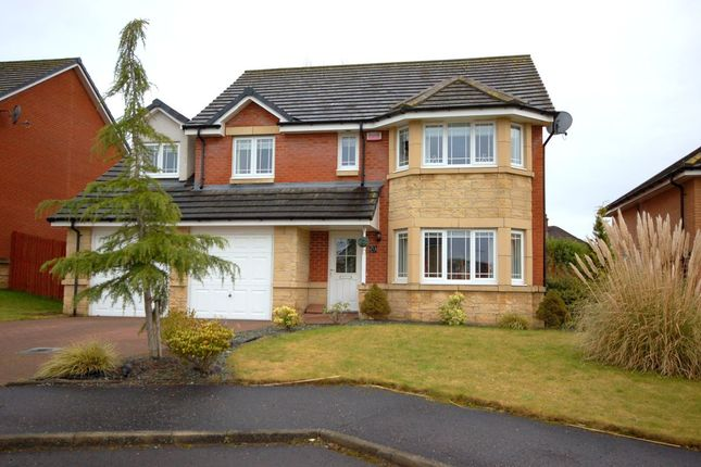 Thumbnail Detached house for sale in Greenoakhill Crescent, Uddingston, Glasgow