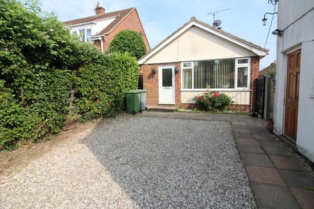 Thumbnail Detached bungalow for sale in The Green, Upton, Norwich