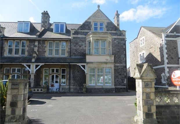 Thumbnail Flat for sale in Ellenborough Park South, Weston-Super-Mare, North Somerset.