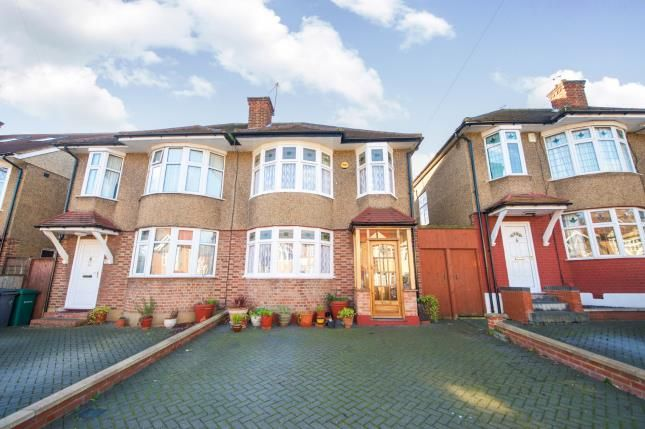 Thumbnail Semi-detached house for sale in Pymmes Green Road, Southgate, London, .