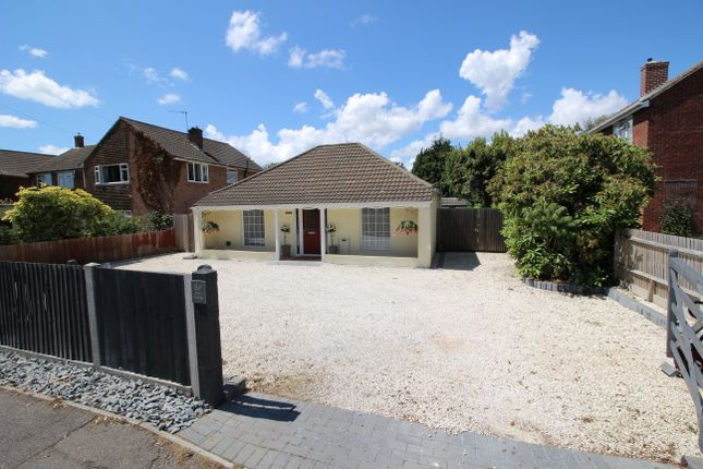 Thumbnail Detached bungalow for sale in Abshot Road, Fareham
