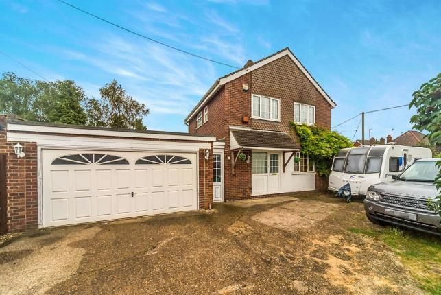 Thumbnail Detached house for sale in Springfield Way, Cranfield, Bedford, Bedfordshire