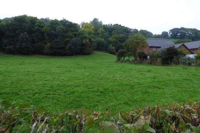 Thumbnail Land for sale in Trem Hirnant, Manafon, Welshpool