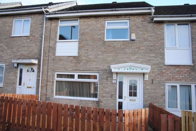 Thumbnail Terraced house to rent in Letch Way, Lemington, Newcastle Upon Tyne