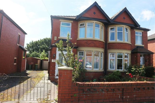 Thumbnail Semi-detached house for sale in Glenluce Drive, Preston, Lancashire