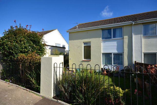 Semi-detached house for sale in Grange Road, Goodrington, Paignton